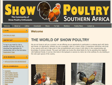Tablet Preview of poultryclubsa.co.za